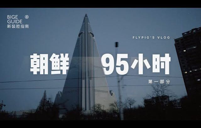 VLOG 018: 朝鲜95小时(第一部分,中英字幕)/ 95 HOURS IN NORTH KOREA (Pt. 1, English Captions) / flypig