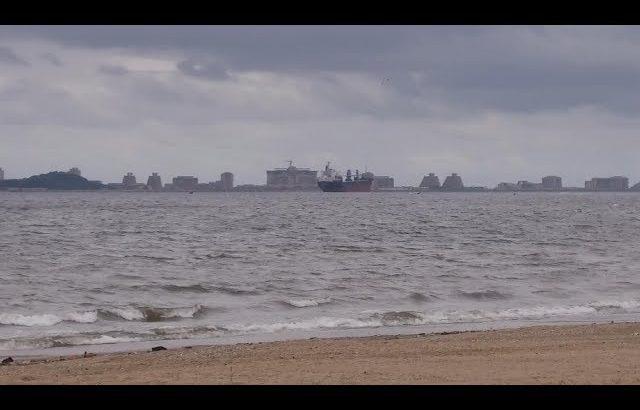 """【朝鲜世界2】15集:朝鲜元山最著名的""""明沙十里""""海岸线什么样子?天气不好,看不出效果 / 旅行纪录片我去看世界"""
