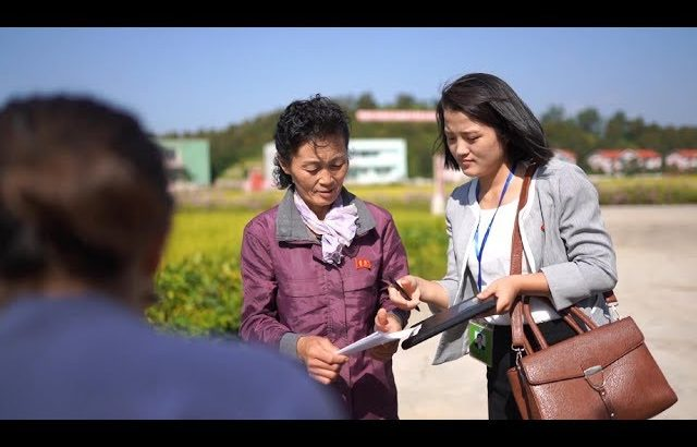 【朝鲜世界2】23集:向合作农场讲解员求证:自家盈余的菜是否可以自由买卖? / 旅行纪录片我去看世界