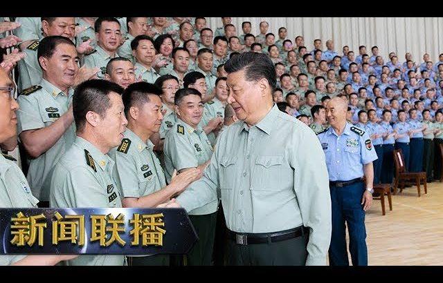 《新闻联播》 习近平在视察空军某基地时强调 牢记初心使命 提高打赢能力 以优异成绩庆祝新中国成立70周年 20190823   CCTV / CCTV中国中央电视台